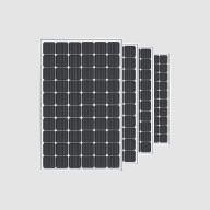 4 panneaux photovoltaïques bi-verre